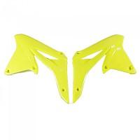 [해외]UFO Radiator Covers Suzuki RM-Z 250 10-18 9138364793 Fluor Yellow