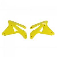 [해외]UFO Radiator Covers Suzuki RM-Z 450 07 9138364814 Fluor Yellow