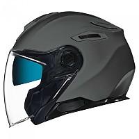 [해외]넥스 X.Viliby Plain Open Face Helmet 9137764722 Titanium Matte