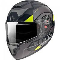 [해외]MT HELMETS Atom SV W17 Modular Helmet 9138277649 Gloss Grey / Matt Grey