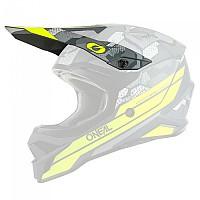 [해외]오닐 3 Series Camo Visor 9138342168 Grey / Neon Yellow