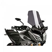 [해외]PUIG Touring Windshield Yamaha MT-09 Tracer 9138369994 Dark Smoke
