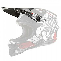[해외]오닐 3 Series Scarz Visor 9138342176 Black / White / Red