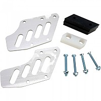 [해외]MOOSE HARD-PARTS Aluminium Chain Guide GasGas EC125/200/250/300 03-17 9138357647 Silver