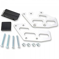 [해외]MOOSE HARD-PARTS Aluminium Chain Guide Kawasaki KX250/450F 09-19 9138357654 Silver