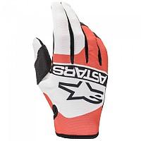[해외]알파인스타 Radar Gloves 9138237640 Off White / Fluo Red / Blue