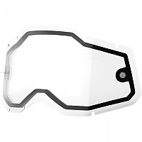 [해외]100% Racecraft/Accuri/Strata Dual Replacement Lenses 9138361919 Clear