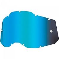 [해외]100% Racecraft/Accuri/Strata Replacement Lenses 9138361931 Mirror Blue