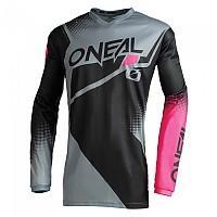 [해외]오닐 Element Racewear Long Sleeve Jersey 9138342275 Black / Grey / Pink