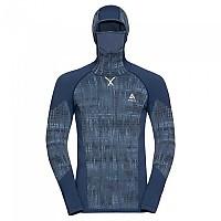 [해외]오들로 Blackcomb Long Sleeve Base Layer With Facemask 9137501753 Estate Blue