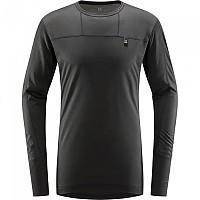 [해외]하그로프스 Natural Blend Tech Long Sleeve T-Shirt 9138160132 True Black
