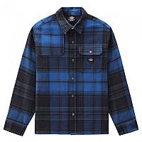[해외]DICKIES Nimmons Long Sleeve Shirt 9138164600 Dark Navy