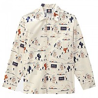[해외]DICKIES Bettles Long Sleeve Shirt 9138164606 Ecru