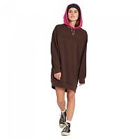 [해외]볼컴 Weirdi Long Sleeve Dress Dark Brown