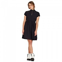 [해외]볼컴 Dotsabilly Short Sleeve Dress Black