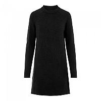 [해외]PIECES Chapa Long Sleeve O Neck Knit Dress Black