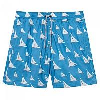 [해외]FA?ONNABLE Hublot Volley Sail Print Soft Touch Swimming Shorts Summer Blue