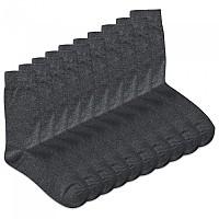 [해외]잭앤존스 Plain Socks 10 Pairs Dark Grey Melange / Detail Dgm / Dgm