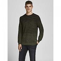[해외]잭앤존스 Thomas Crew Neck Sweater Forest Night / Detail Twisted With Black