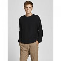 [해외]잭앤존스 Wind Crew Neck Sweater Black