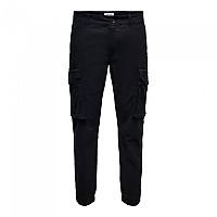 [해외]ONLY & SONS Kim Life Pg 0490 Cargo Pants Black