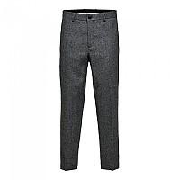 [해외]SELECTED Slimtape-Louis Otis Pants Grey / Pattern Herringbone
