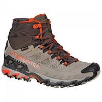 [해외]라 스포르티바 Ultra Raptor II Mid Leather Goretex Hiking Boots 4138281541 Moon / Paprika