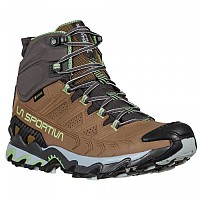 [해외]라 스포르티바 Ultra Raptor II Mid Leather Goretex Hiking Boots 4138281542 Taupe / Sage