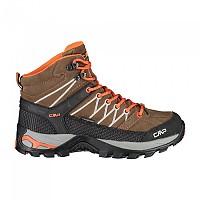 [해외]CMP Rigel Mid WP Hiking Boots 4138309557 Corteccia / Grenadine