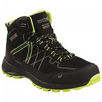 [해외]레가타 Samaris Lite Hiking Boots 4138180464 Black / Lime Punch