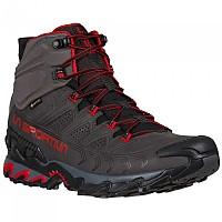 [해외]라 스포르티바 Ultra Raptor II Mid Leather Goretex Hiking Boots 4138281538 Carbon / Tango Red