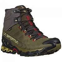 [해외]라 스포르티바 Ultra Raptor II Mid Leather Goretex Hiking Boots 4138281540 Ivy / Tango Red